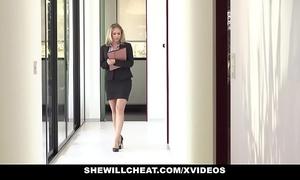Shewillcheat - lewd real estate agent copulates bbc