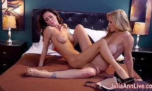 Hot milf julia ann is a lusty lesbian!