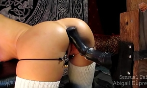 Spread virgina large toy anal fap