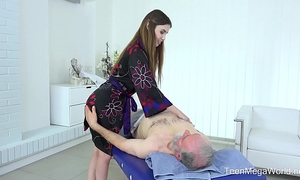 Old-n-young.com - elle rose - thrilling full body massage