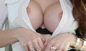 Fantasyhd - former wall street intern veronica vain is a squirting expert