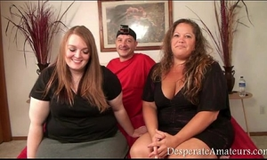 Casting despairing amateurs gopro bts footage bbw three-some milf large wobblers monry m