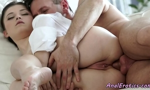 Gorgeous fucked right into an asshole eurobabe enjoys hard jock