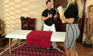 Senator olivia austin screwed by the masseuse