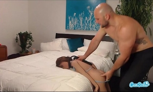 Jmac acquires orall-service anal and doggie from real doll previous to cumming in her arse