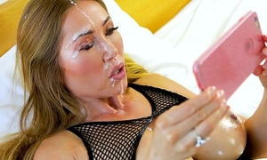 Perfect pov large tit kianna dior gives pov oral sex & acquires sexy facial
