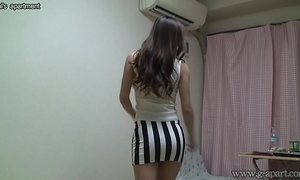 Peeping in nature's garb japanese BBC slut madoka at her room