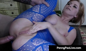 Penny pax: alex legend dumps his overweight load right up my arse!